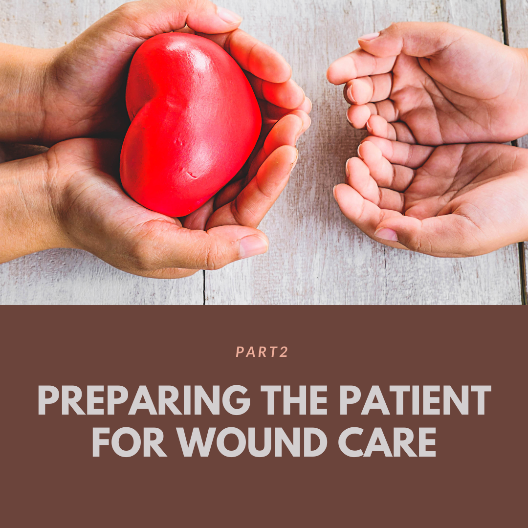 Preparing The Patient For Wound Care