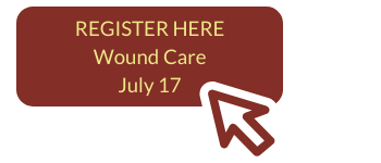 July 17 wound care button